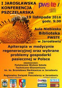 I Jarosławska Konferencja Pszczelarska