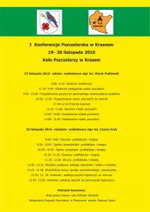 I Konferencja Pszczelarska w Krasnem